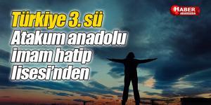 Türkiye 3. Sü atakum anadolu imam hatip lisesi'nden