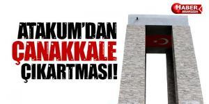 Çanakkale'ye 'Atakum' Çıkarması 367 Atakum'lu Çanakkale'yi gezdi