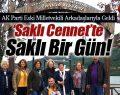 Ak Parti Eski Milletvekili Arkadaşlarıyla Ayvacık'a Geldi