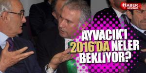 Ayvacık'da İstişare Toplantısı! Ayvacık'a 2016 Yılında Neler Yapılacak