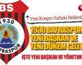1930 Bafraspor'a Yeni Başkan Fatih Yıldız ve Yönetim Adayı