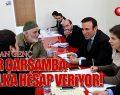 Canik Belediyesi Her Çarşamba Halka Hesap Veriyor