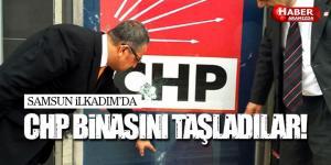 Samsun CHP İlkadım Binasını Taşladılar!