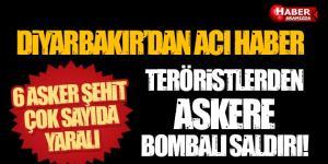 Diyarbakır'dan Acı Haber 6 Şehit Çok Sayıda Yaralı Var