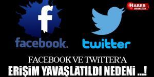 Facebook ve Twitter'a Erişim Engeli! Facebook'a Neden Erişemiyorum, Twitter'a Neden Erişemiyorum