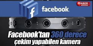 Facebook'tan 360 derece çekim yapabilen kamera