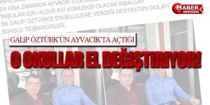 Galip Öztürk'ün Ayvacık'taki Okulları El Değiştiriyor!