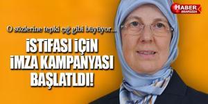 Sema Ramazanoğlu'nun İstifası için on binlerce imza toplandı