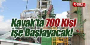 Kavak'ta 700 Kişi İşe Başlayacak! Çimento Fabrikası Yüz Güldürecek