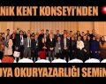 Canik'te Medya Okuryazarlığı Semineri sona erdi