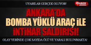 Ankara Kızılay Meydanı Güven Park'da Şiddetli Patlama!