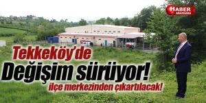 Tekkeköy hayvan pazarı ilçe merkezinden çıkartılıyor