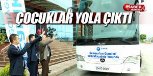 Samsun'un Gençleri Milli Mücadele Yolu'nda