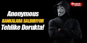 Anonymous bankaları hedef aldı saldırıya başladı