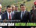ASKON SAMSUN ŞUBESİ HATIRA ORMANI DİKTİ