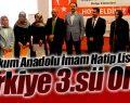 Atakum Anadolu İmam Hatip Lisesi, Arapça Münazara Yarışmasında Türkiye 3.'sü oldu