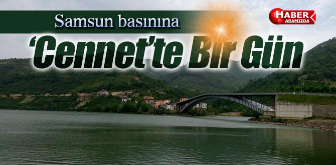 Saklı Cennet Ayvacık'ta Basına Keyifli Bir Kahvaltı