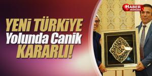 Canik Belediyesi Yeni Türkiye Yolunda Kararlı
