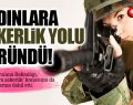 Milli Savunma Bakanlığı Kadınları da Zorunlu Askere Alacak!
