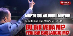 Samsun MHP'de Sular Durulmuyor! Bu Bir Veda Mı Başlangıç mı?