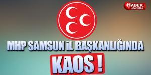 MHP Samsun İl Başkanlığında Kaos Gibi Olay!