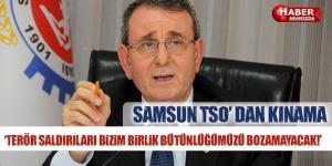 Samsun TSO Başkanı Murzioğlu'ndan Terör Saldırısına Kınama