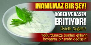 Göbek ve Basen Eriten Mucizevi Doğal Yöntem!