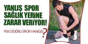 Biliçsiz Yapılan Spor Sağlık Yerine Zarar Veriyor