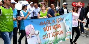 Samsun'da 21 Mayıs Dünya Süt Günü Kutlandı