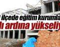 Tekkeköy'de bir yılda üç okul birden yükseliyor