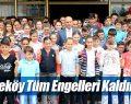 Başkan Togar ve öğrencilerden sessiz engelliler haftası mesajı