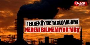 Tekkeköy'de Vahim Tablo! Hava Kirliliğinin Sebebi …