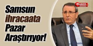 Samsun'da İhracatta doğru pazar ve doğru müşteri araştırması