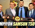 Başkan Murzioğlu şampiyon sporcu Mustafa Kol'u ağırladı