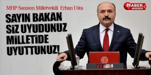 Erhan Usta İçişleri Bakanı Efkan Ala'ya Yüklendi! Uyudunuz ve Uyuttunuz!