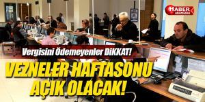 Samsun'da, Emlak, ÇTV, İlan ve Reklam Vergisi ödemelerine vergi mesaisi