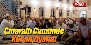 Atakumlulular Çınaraltı Camiinde Kuran Ziyafetinde Buluştu