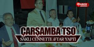 Çarşamba TSO'dan Ayvacık'ta İftar Programı Yapıldı