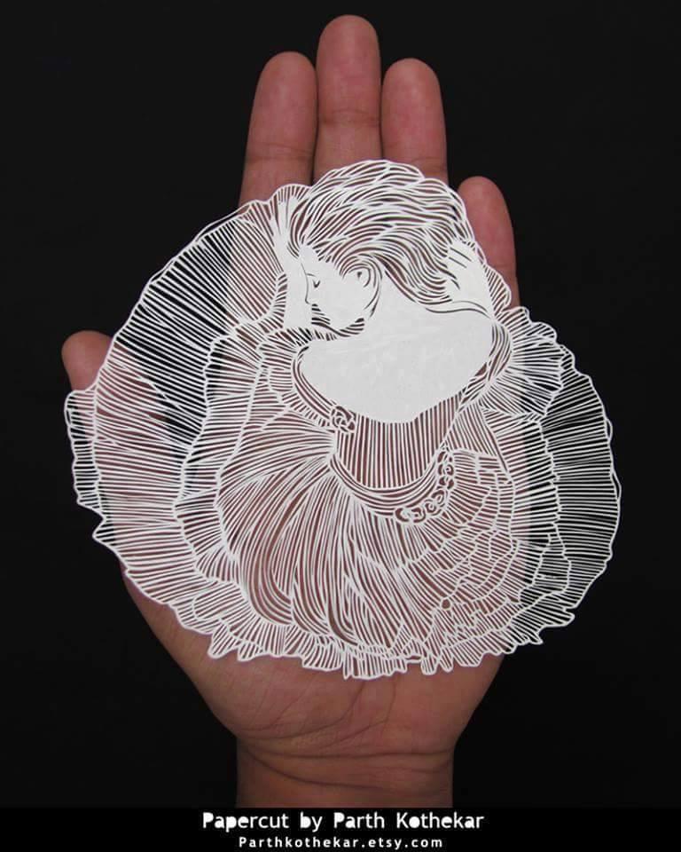 Kağıtlardan Yapılmış inanılmaz 3D Tasarımlar