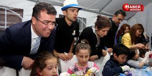 Atakum'da Çocuklar Hem Eğleniyorlar Hem Öğreniyorlar