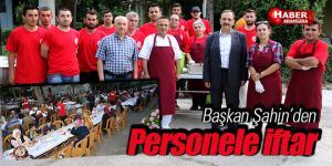 Bafra Belediyesi Personelini iftarda Buluşturdu