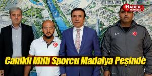 Canikli milli sporcu Musa Davulcu, madalya peşinde