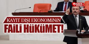 Erhan Usta 'Kayıt dışı ekonominin faili Hükümet'