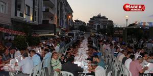 Kavak'ta iftar programına binlerce kişi katıldı