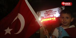 Atakum demokrasi nöbeti sürüyor