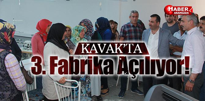 Kavak'a Üçüncü Tekstil Fabrikası Açılıyor