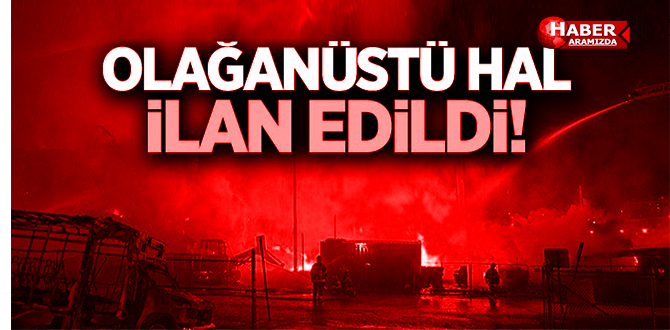 Samsun'da Olağanüstü Hal 'OHAL' İlan Edildi!
