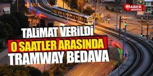 Samsun'da 19:00-01:00 Saatleri Arasında Tramvay Bedava
