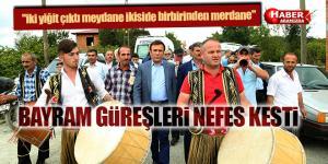 Asırlık Bayram Güreşi Festivale İlgi Gördü