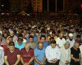 Samsun Cumhuriyet Meydanı'nda demokrasi nöbeti